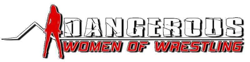 Dangerous Women of Wrestling Logo White Background